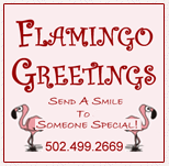 Flamingo  Greetings: Birthday Lawn Decorations
